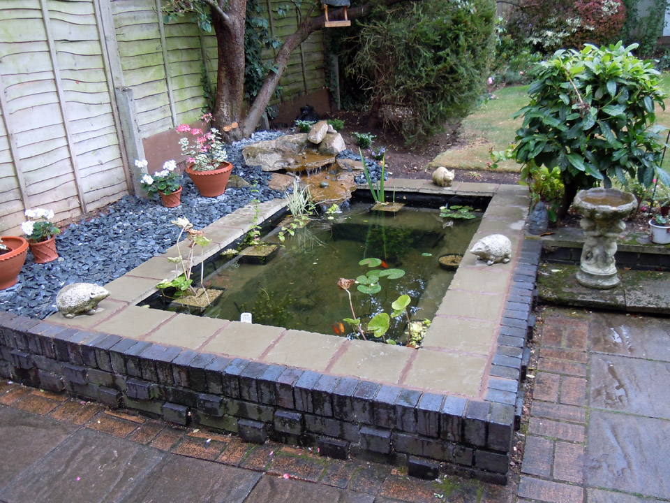 Water wizard garden ponds water features landscaping for Raised garden pond designs